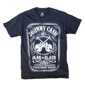 NEW Johnny Cash / Jack Daniels Style Mens Shirt S